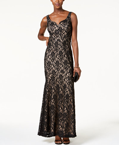Betsy & Adam Lace Mermaid Gown