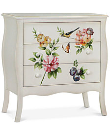 Floral Gardens Chest, Quick Ship