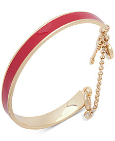 Ivanka Trump Gold-Tone Enamel Bangle Bracelet