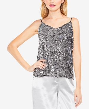 Vince Camuto Camisoles SEQUINED CAMISOLE