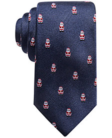 Club Room Men's Santa Silk Tie, Created for Macy's