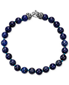 Scott Kay Men's Lapis Lazuli Bead Link Bracelet
