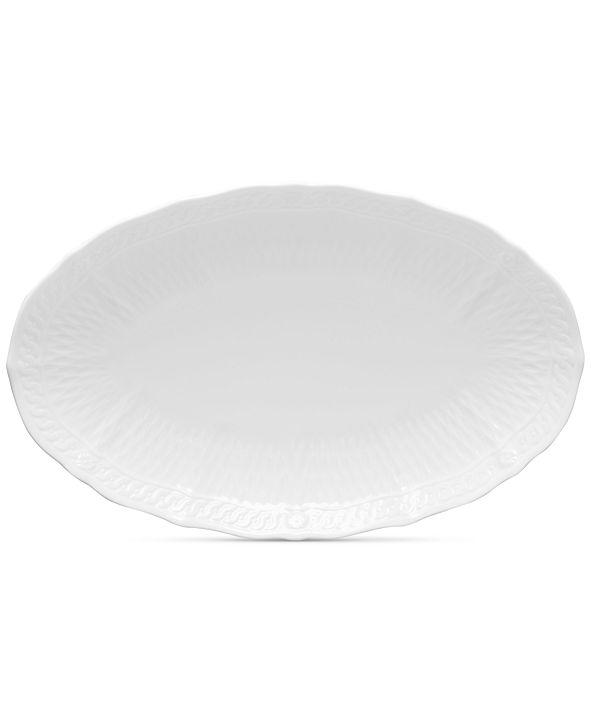 "Noritake Cher Blanc Oval Platter 10.5"""