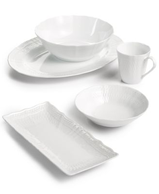 Cher Blanc Set/4 All Purpose Bowls