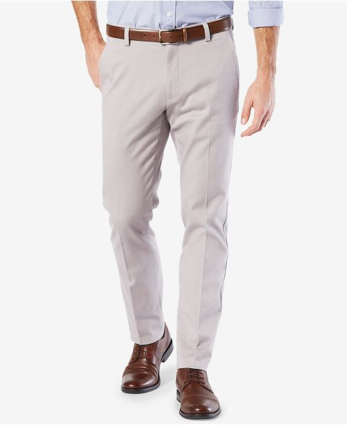 Dockers Men's Easy Slim Fit Khaki Stretch Pants