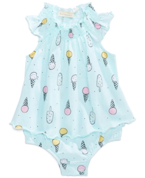 First Impressions Ice CreamPrint Cotton Skirted Sun Suit Baby Girls (024 months) Created for Macys