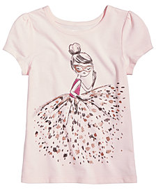 Epic Threads Masked Girl T-Shirt, Little Girls, Created for Macy's