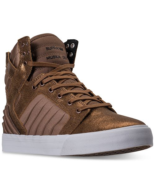 d934aaad5852 ... SUPRA Men s Skytop EVO High-Top Casual Sneakers from Finish ...