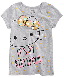 Hello Kitty Toddler Girls Birthday T-Shirt