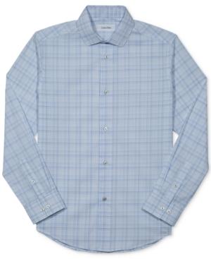 Calvin Klein Plaid Shirt Big Boys (820)
