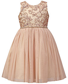 Jayne Copeland Embroidered Mesh Ball Gown, Toddler Girls