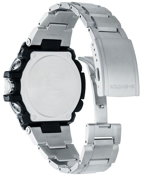 G Shock Men S Stainless Steel Bracelet Watch 53 8mm Reviews