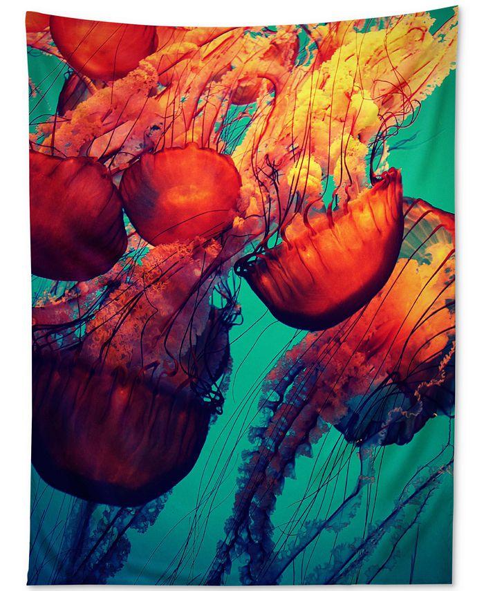 Deny Designs - Krista Glavich Jellyfish 7 Tapestry