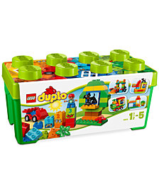 LEGO® DUPLO® 65-Pc. My First All-in-One-Box-of-Fun 10572