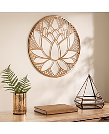 Lotus Blossom Wall Decor