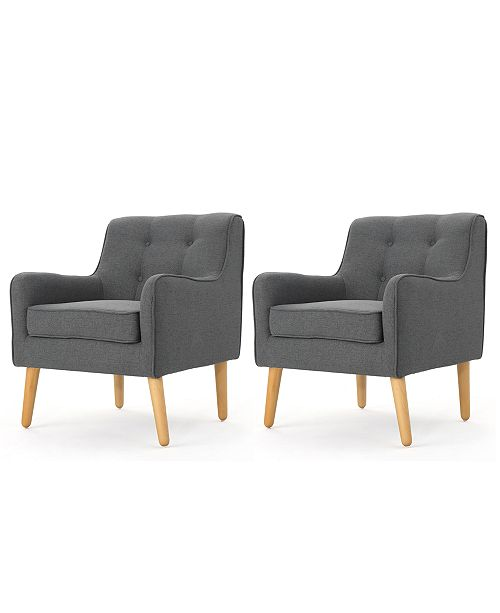 Sunday Theory Roslen Armchair Set Of 2 Quick Ship Furniture