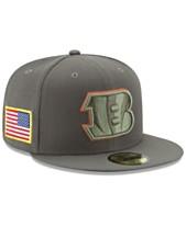 01899a82f9c New Era Cincinnati Bengals Salute To Service 59FIFTY Fitted Cap