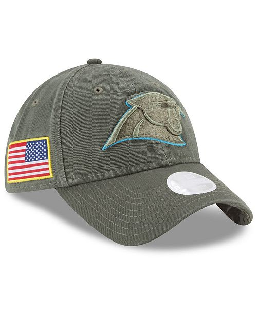 New Era. Women s Carolina Panthers Salute To Service 9TWENTY Cap. Be the  first to Write a Review. main image ... b234a6901