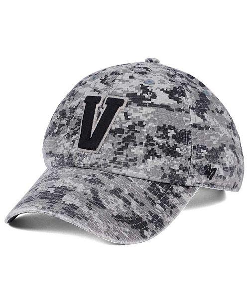 88ad1e4fd2823d ... '47 Brand Vanderbilt Commodores Operation Hat Trick Camo Nilan Cap; '  ...