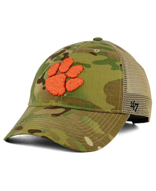 63f1dfb753b63 ...  47 Brand Clemson Tigers Operation Hat Trick Thompson Cap    ...