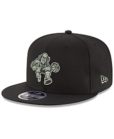 New Era Philadelphia 76ers Black on Shine 9FIFTY Snapback Cap