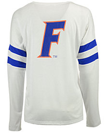 NUYU Women's Florida Gators Long Sleeve Crew Sweatshirt