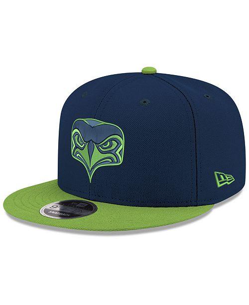 a1f77b6660b New Era Seattle Seahawks Basic Team 9FIFTY Snapback Cap - Sports Fan ...
