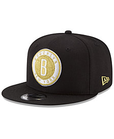 New Era Brooklyn Nets Gold on Team 9FIFTY Snapback Cap