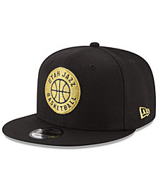 New Era Utah Jazz Gold on Team 9FIFTY Snapback Cap