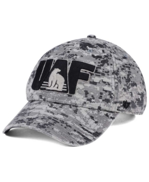 '47 Brand Alaska Fairbanks Nanooks Operation Hat Trick Camo Nilan Cap Men Activewear - Sports Fan Shop By Lids
