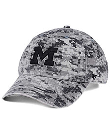 '47 Brand Michigan Wolverines Operation Hat Trick Camo Nilan Cap