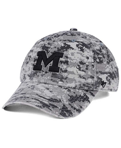 '47 Brand Michigan Wolverines Operation Hat Trick Camo Nilan Cap