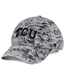 '47 Brand Texas Christian Horned Frogs Operation Hat Trick Camo Nilan Cap