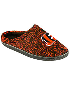 Forever Collectibles Cincinnati Bengals Knit Cup Sole Slipper
