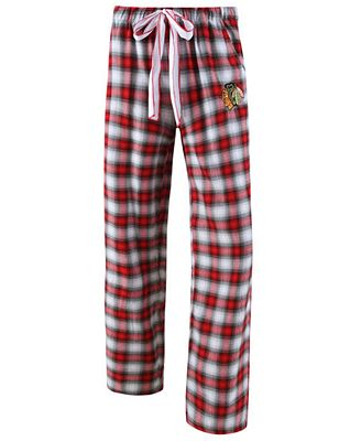 College Concepts Women's Chicago Blackhawks Forge Flannel Pants