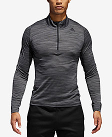adidas Men's 36 Hours Ultimate Tech Quarter-Zip T-shirt