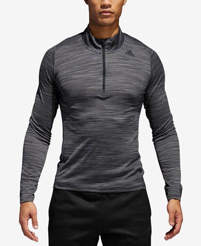 adidas Men's 36 Hours Ultimate Tech Quarter-Zip T-shirt