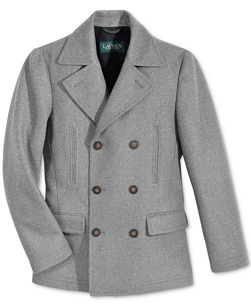 Lauren Ralph Lauren Pea Coat, Big Boys