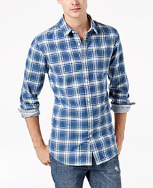 American Rag Men's Chase Plaid Shirt, Created for Macy's