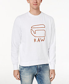 G-Star RAW Men's Embroidered Sweatshirt