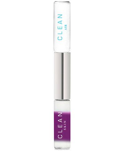CLEAN Fragrance Dual-Ended Eau de Parfum Rollerball - Skin & Air, 0.34-oz.