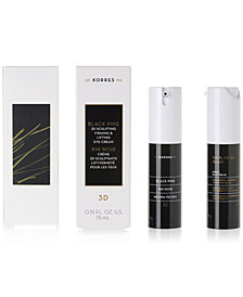 Korres Black Pine 3D Sculpting, Firming & Lifting Eye Cream, 15 ml