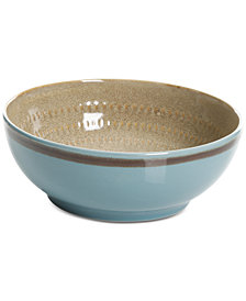 CLOSEOUT! Gibson Elite Reactive Glaze Amber Cereal Bowl, Created for Macy's