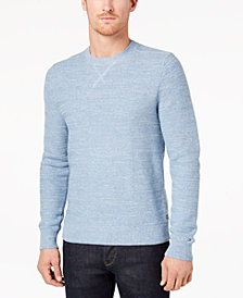 Tommy Hilfiger Men's Textured Stripe Sweater, Created for Macy's