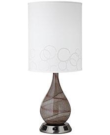 Pacific Coast Swirl Art Table Lamp