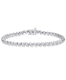 Diamond Tennis Bracelet (1 ct. t.w.) in Sterling Silver