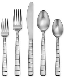 Satin Logan Square 45-Pc. Flatware Set, Service for 8