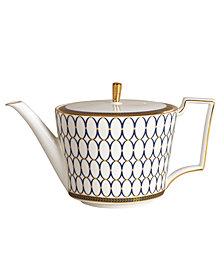 "Wedgwood ""Renaissance Gold"" Teapot, 2.1 Pts."