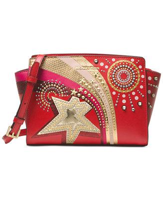 MICHAEL Michael Kors Selma Medium Satchel Handbags
