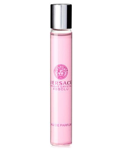 Versace Bright Crystal Absolu Eau de Parfum Rollerball, 0.3 oz.